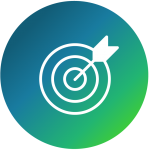 arrow striking bullseye icon